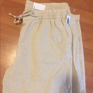NWT Old Navy Linen Pant
